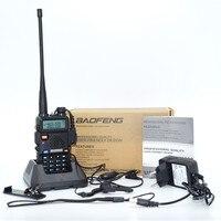 NEW FM Baofeng UV 5R Walkie Talkie 2 Two Way Radio Dual Band Vhf Uhf uv 5r Baofeng For Push To Talk CB Radio Stations HF Tr