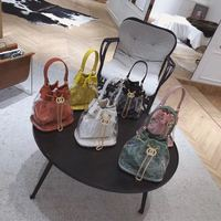 High quality designer satchels clear bucket bag transparent handbags ladies pvc tote purse chain Shoulder messenger 2019