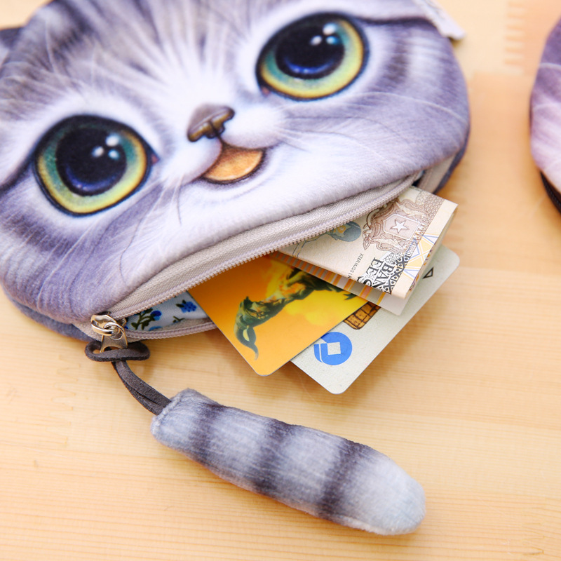 Bags For Women 2018 Zipper Pouch Coin Purse Small Mini Bag Purses Mini Coin Wallet Pokemon Plush Pussy Child Peluche Kids Pocket