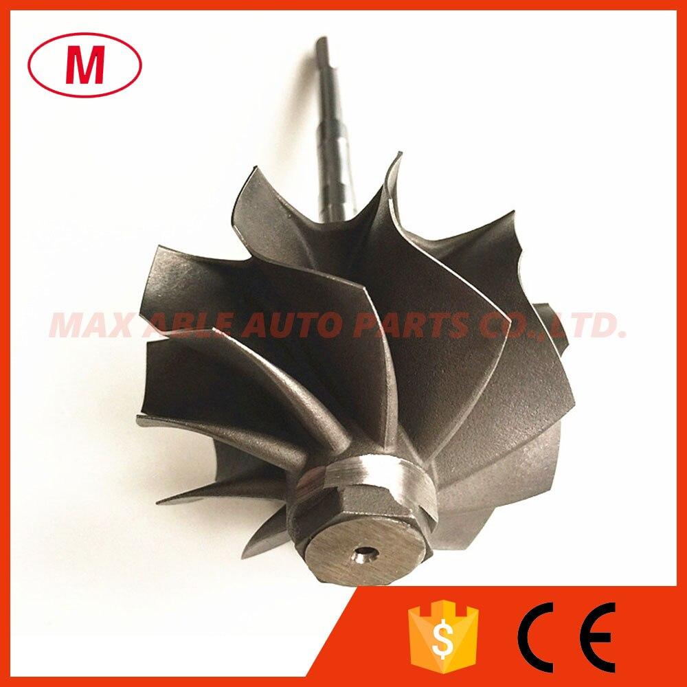 GT3582R GT35R GT3582 GTX3582 Turbo wheel turbine shaft wheel 62 35X68mm 10 blades Ceramic ball bearing