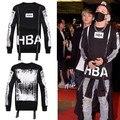 Autumn/Winter mens hba sweatshirt o-neck zipper Personality design 3D hip hop fleece hip hop hoodies man streetwear hoodie