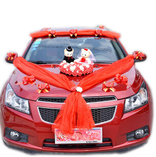 New married celebrate supplies furnished car decoration wedding new married celebrate supplies furnished car decoration wedding flowers 4styles car floats decorated wedding car decoration junglespirit Gallery