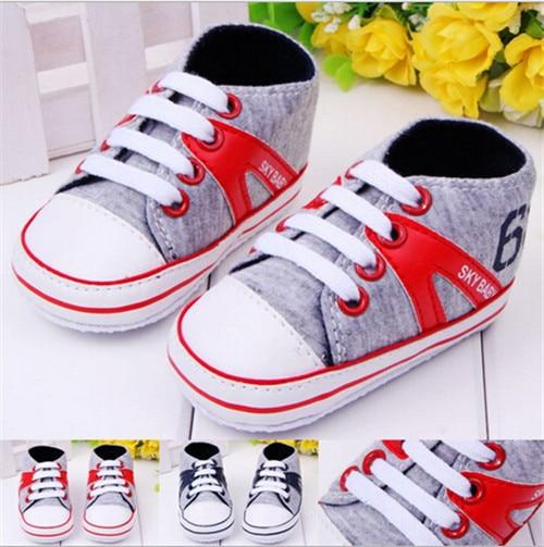 Muoti vauva urheilu kengät antislip pehmeä ainoa lapsi vauvojen - Vauvan kengät