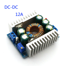 DC DC 12a step down módulo ajustável 4.5v 30v a 0.8v 30v power aplicar módulo