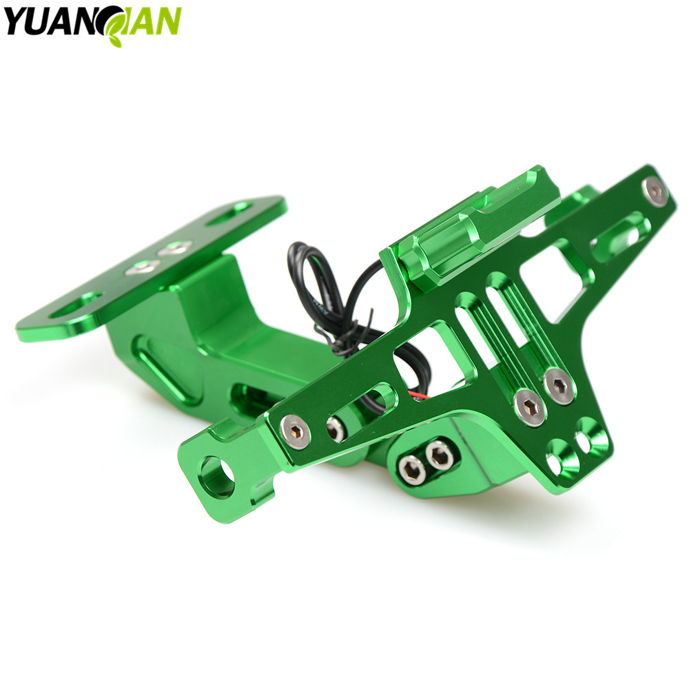 CNC Motorcycle License Plate Bracket Holder For KTM Duke 125 200 390 640 Adventure/Duke/Enduro/SM 690 DUKE/R ENDURO/SMC/SM BMW for ktm logo 125 200 390 690 duke rc 200 390 motorcycle accessories cnc engine oil filter cover cap