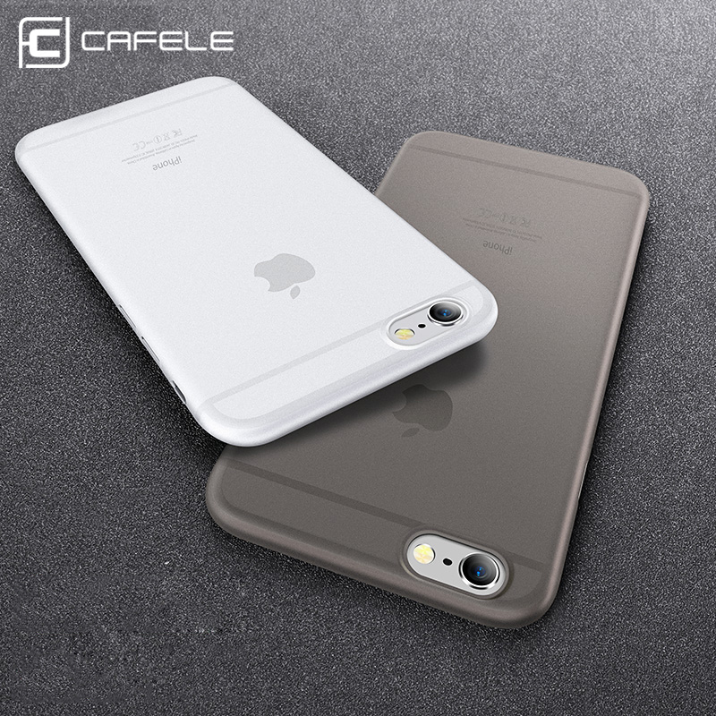 CAFELE Etui na telefon iPhone 7 6 6 S Plus Ultra Slim Case na iPhone 7 6 6S Luksusowe półprzezroczyste PP Anti-Fingerprint Back Cover