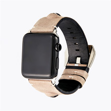 Vintage Calfskin Wristband For Apple Watch Series 4/3/2/1 Men's and Women's Fashion Stereo Eye Pattern for Iwatch44/42/40/38mm