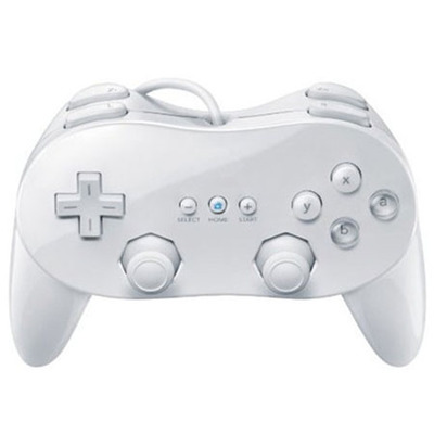 Classic Dual Analog ABS Wired Game Controller Pro for Nintend W ii Remote Double Shock Game Controller Gamepad For W ii Console