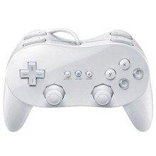 Contrôleur de jeu filaire ABS Double analogique classique Pro pour Nintend W ii télécommande contrôleur de jeu Double choc manette pour Console W ii