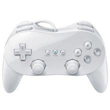 Mando analógico doble ABS con cable para Nintendo W ii, mando a distancia clásico con doble descarga para consola W ii
