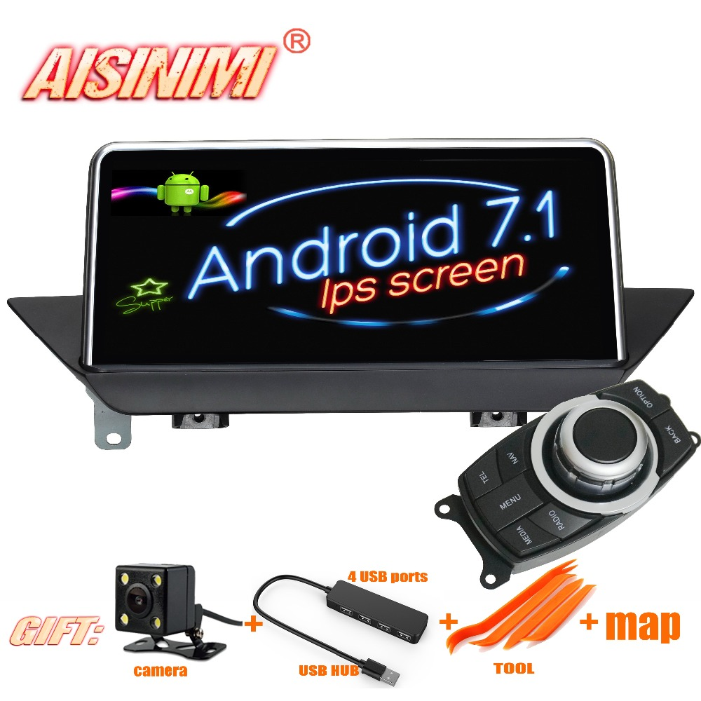 Android 7 1 Car Dvd Navi Player FOR BMW X1 E84 2009 2015 Without original screen