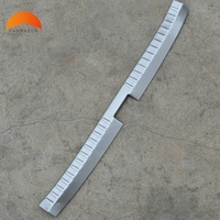 For Toyota Vios Yaris 2013 2014 Sedan Rear Bumper Protector Sill Trunk Lid Tread Plate Threshold