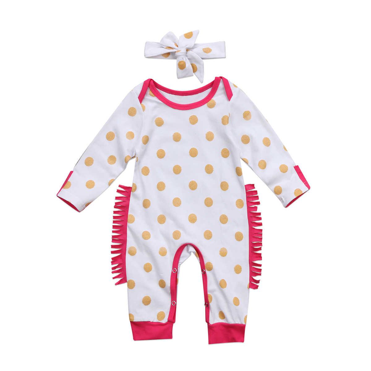 Фото Pudcoco 0 24 м рюшами для новорожденных Обувь девочек Золотой горошек хлопок одежда с