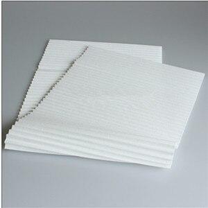 Image 3 - 4 stücke DIY Universelle Filter PM2.5 und Dunst zu Reinigung 1200*290mm HEPA Filter Papier mit Metallklappfilter Luftreiniger Teile