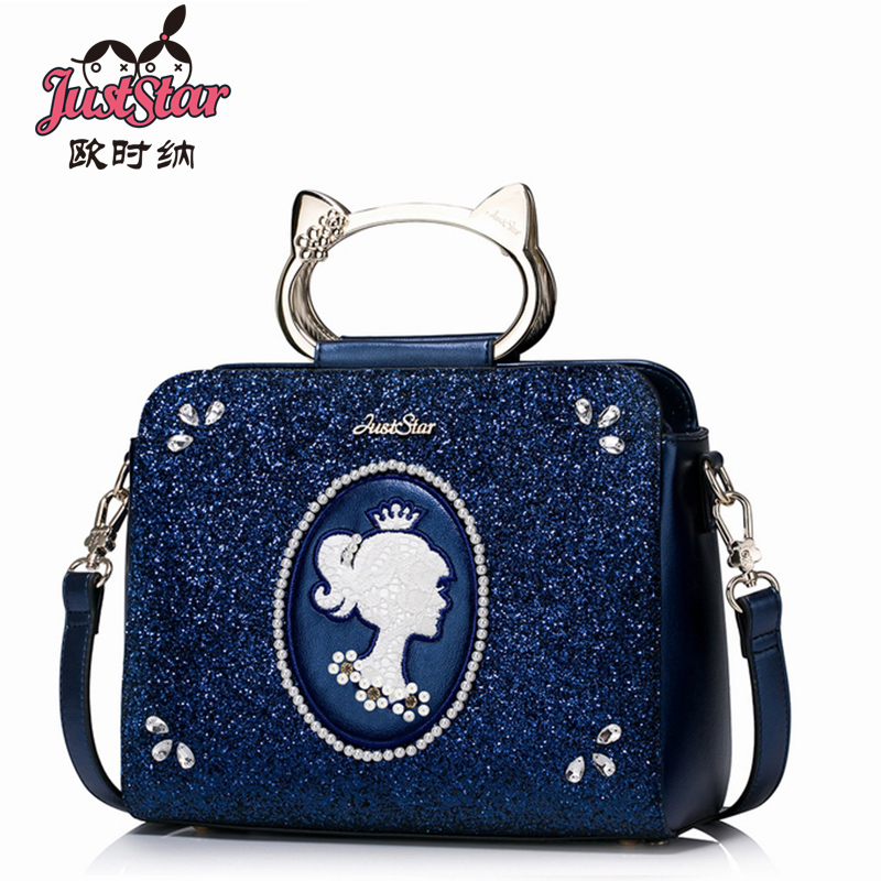 JUST STAR Fashion Women Bag Designer Brand PU Leather Women Handbag Shoulder Bags Small Womens Crossbody Messenger Bags waveshare ssop28 to dip28 b tssop28 enplas ic test socket programming adapter 0 65mm pitch