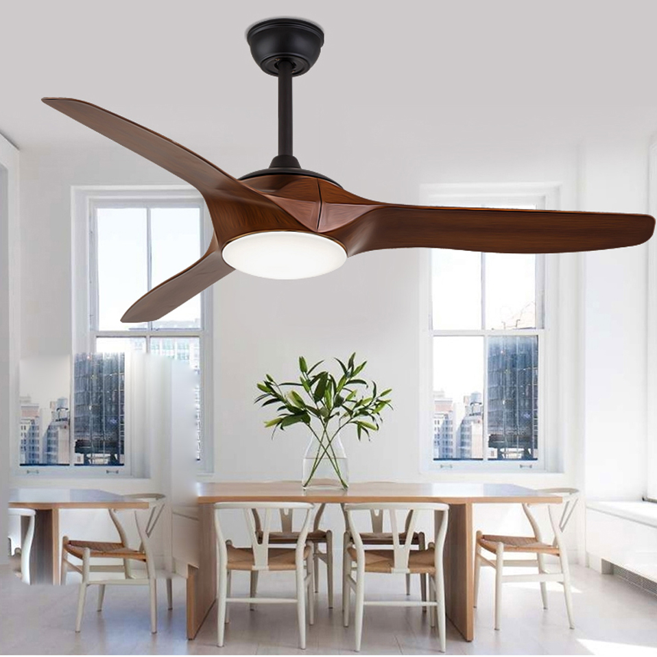 Led modern iron glass plastic ceiling fan led lamp led for Glass ceiling bedroom