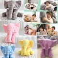 Baby Elephant Pillow Children Sleep Pillow Cute Soft Baby Elephant Doll Stuffed Animals Plush Pillow Kids Toy Children Christmas