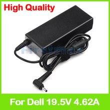 19.5 V 4.62A laptop AC power adapter para Dell Vostro 14 5460 5470 5470D 5480 5480D 5560 5560D 5560R Ultrabook CT84V