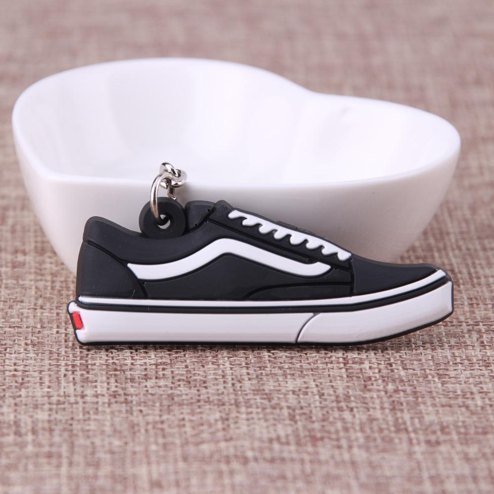 Mini Silicone Jordan Shoes Keychain Bag Charm Woman Men Kids Key Ring Gifts Sneaker Key Holder Key Chain