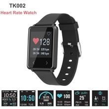 Новый 1.44 дюймов 2.5 HD сенсорный экран Smart Band TK002 монитор сердечного ритма сна трекер для IOS Android часы водонепроницаемый