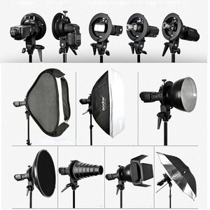 "Image 5 - Godox 50*50cm / 40*40cm S Type Bracket Flash Honeycomb Grid Softbox Bowens Mount Speedlite Adapter 16"" / 20""  Soft Box Kit"