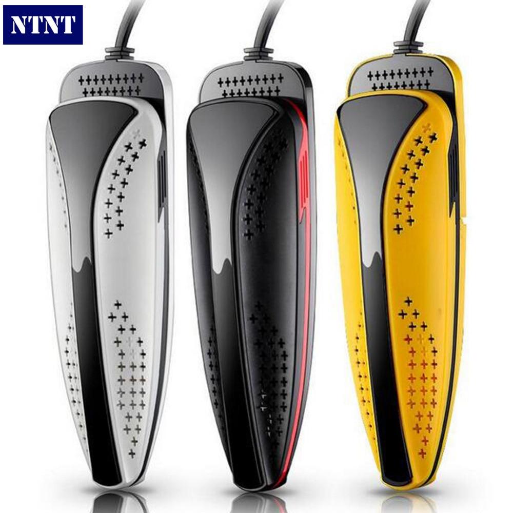 NTNT 220 V 20 W plug 5A Qualité Sèche-Chaussures Pied Protecteur Boot Odeur Déodorant Dispositif Chaussures Chauffage Sèche 3 couleurs NOUVEAU