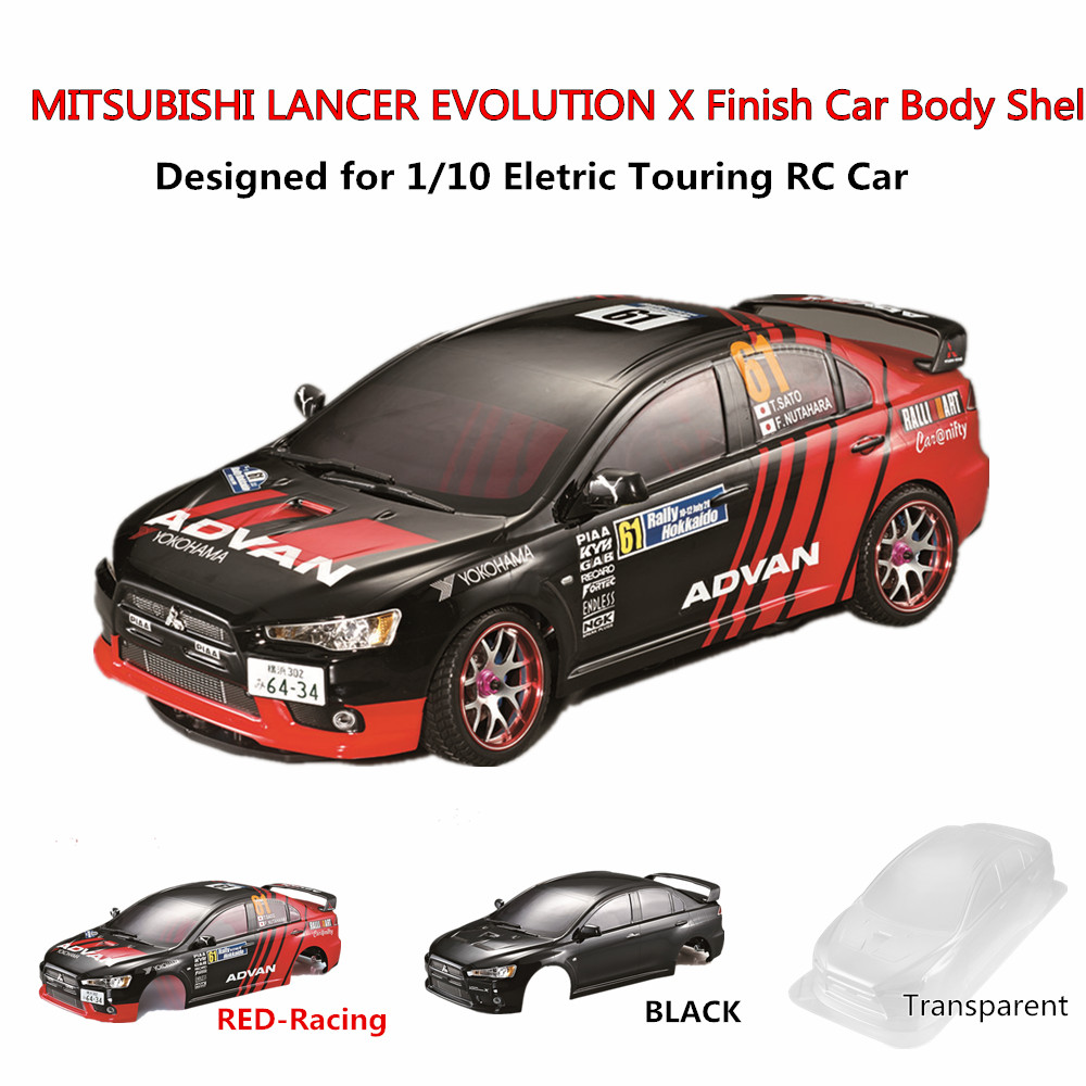 Car Body Parts >> Us 45 88 25 Off Rc Cars Body Shell Frame Kit For Mitsubishi Lancer Evolution X 1 10 Electric Touring Rc Car Rally Racing Rc Toys Diy Parts In Parts
