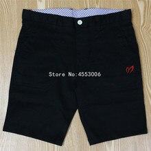 Для мужчин летние шорты для гольфа Жемчужный Гейтс Спорт на открытом воздухе быстросохнущая Хлопок Мужской Костюмы шорты 4 цвета;