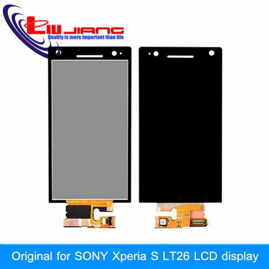 LCD Display Touch Screen Digitizer Assembly For Sony Ericsson for Xperia S LT26 LT26i ST26 Free shipping