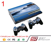 OSTSTICKER Vinyl skin sticker cover for ps3 Fat console + 2 pcs stickers for controllers