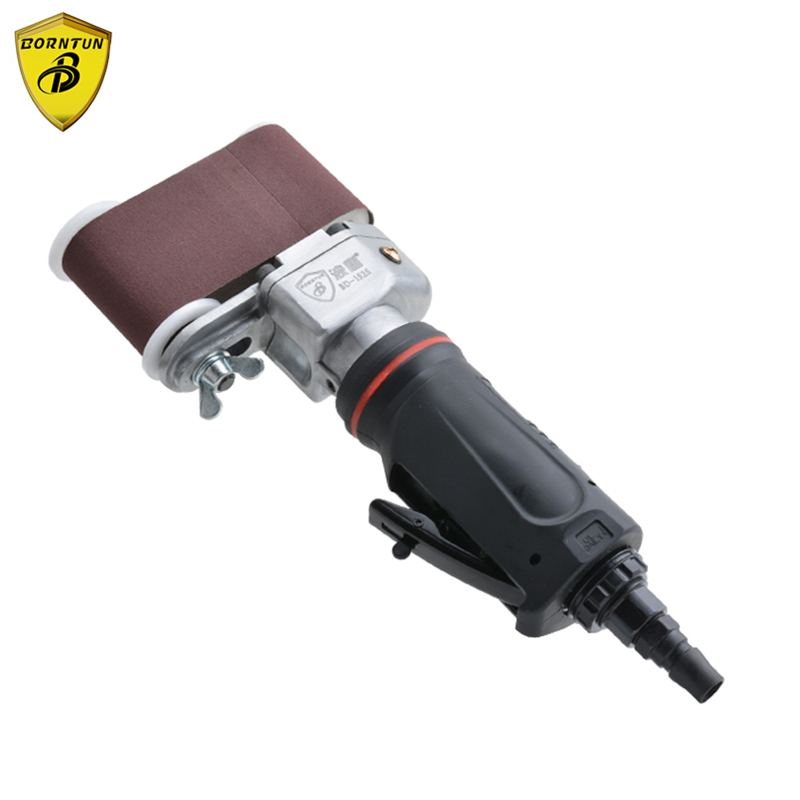 Borntun Air Belt Sander Pneumatic Air Belt Sander 50mm*230mm Pneumatic Polisher Tools Sanding Tool Orbital Air Polishing Machine