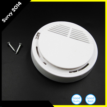 цена на Wireless Alarm Security Smoke Fire Detector / Sensor For all GSM Alarm System For Home House Office