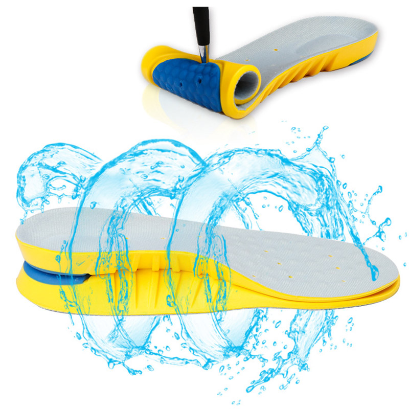 High Quality Anti-Slippery Memory Foam Insoles For Shoes BreathableArch Support Foot Pads Massage Running Sport Insole XD-029