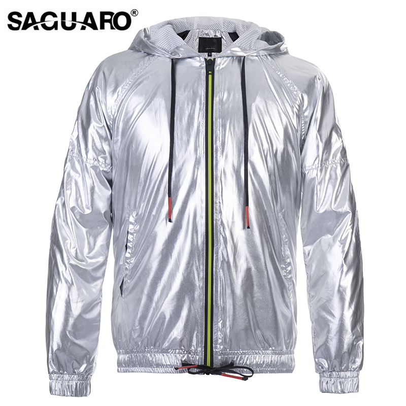 SAGUARO Leather Jacket Men 2018 Autumn Winter Soft PU Leather Clothing Motorcycle Jackets Coat Hooded Casual Mens Jacket