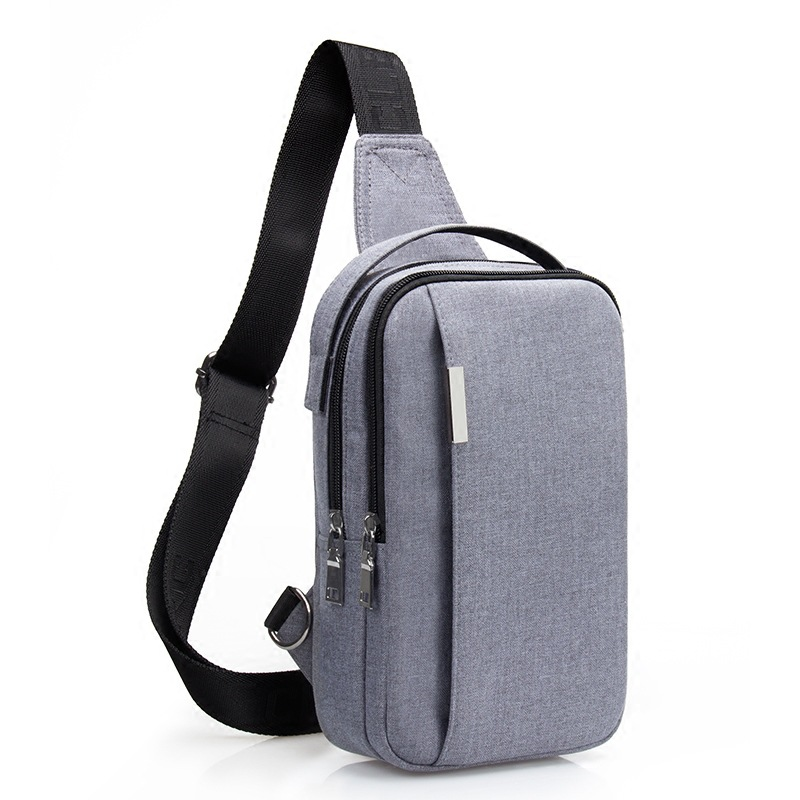 Men Crossbody Bags Sling Shoulder Bag Male Chest Pack Canvas Messenger Bags Small Sling Pack IPad Phone Travel Bag sacoche homme цена