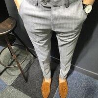 2017 Autumn Men Luxury Suit Pants Social Dress Pants Mens Fit Formal Blazer Trousers Arrival Pantalon