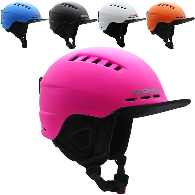 skating helmet snowboard ski men skateboard helmets skiing integrally molded