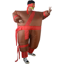 Inflatable Costume Suit Halloween for Adult Party Clothing Funny Classic Costumes Men 2019