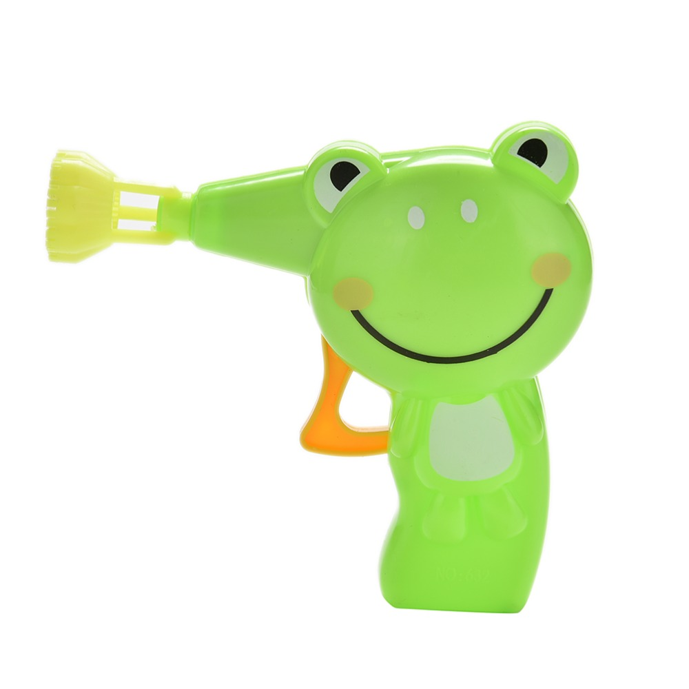 Outdoor Toy Plastic Kid Babies Automatic Soap Animal Bubble Gun Cartoon Animal Model Colorful Soap Water Bubbles 1 Pc