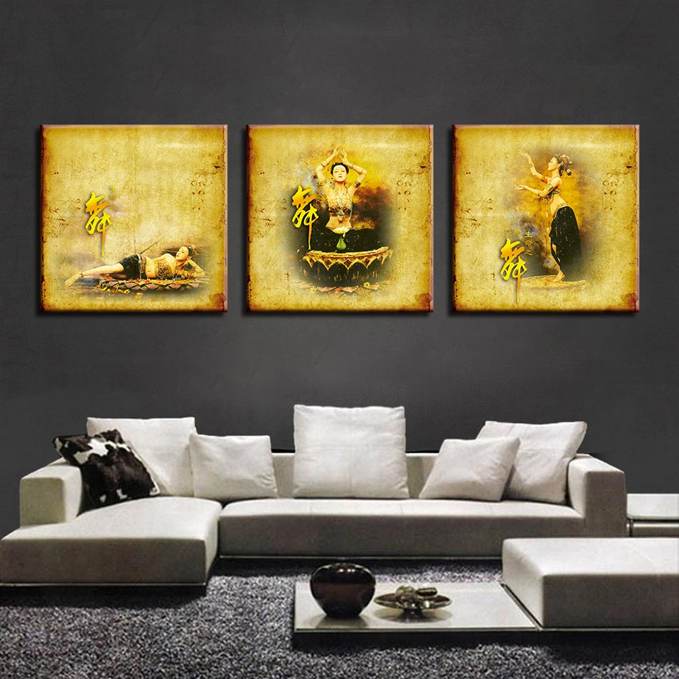 Canvas Wall Art Pictures HD Prints For Living Room Home Decoration 3 ...