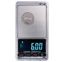 500 г x 0,01 г Мини Электронные цифровые весы для ювелирных изделий Баланс Карманный грамм ЖК-дисплей 20% скидка
