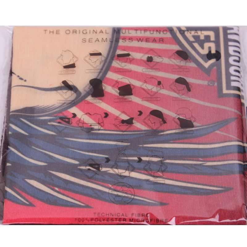 ハンカチ自転車多機能バンダナ冬フリースカチューシャ迷彩残しシームレスマジックチューブリングスカーフフード61