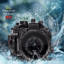 цена на Seafrogs 40m/130ft Underwater Camera Housing Case Bag For Sony A9 Camera Waterproof Bags for Sony A9