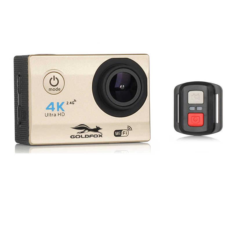 Original 4K WiFi Cámara de Acción H16R Control remoto deporte cámara DV Video grabadora videocámara go impermeable pro Mini casco Cámara