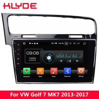KLYDE 10.1 IPS 4G Octa Core Android 8.0 4GB RAM 32GB ROM Car DVD Multimedia Player Radio For Volkswagen VW Golf 7 MK7 2013 2017