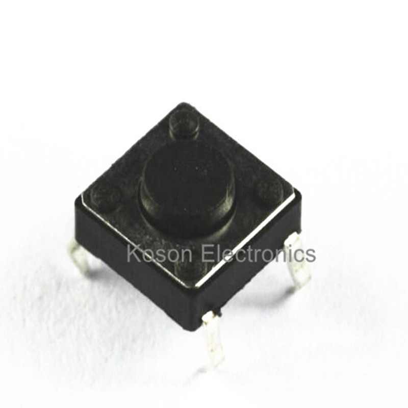 50pcs 6x6x4.3mm Tactile Push Button Switch 4 pins Micro Switch 4-Pin DIP Momentary touch switch 50pcs 6x6x4 3mm tactile push button switch 4 pins micro switch 4 pin dip momentary touch switch