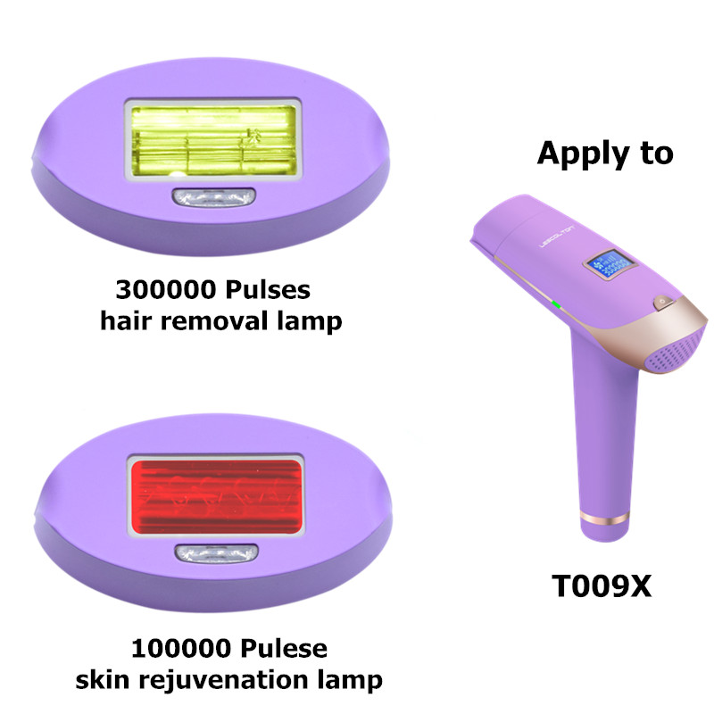 Lescolton T009i Replaceable Lamp of Hair Removal Laser Epilator and Skin rejuvenation Device in Epilators from Home Appliances
