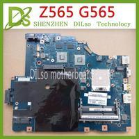 KEFU LA 5754P motherboard for Lenovo G565 Z565 Laptop motherboard Z565 motherboard Test mainboard