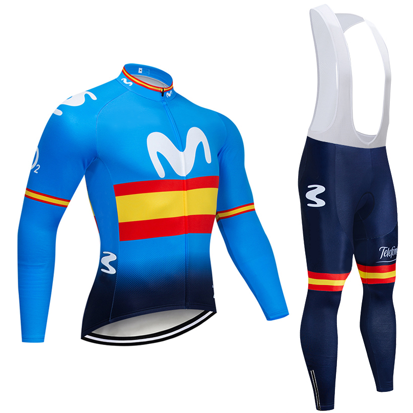 2019 BLUE M TEAM CYCLING JACKET 12D bike pants set Ropa Ciclismo MENS winter thermal fleece