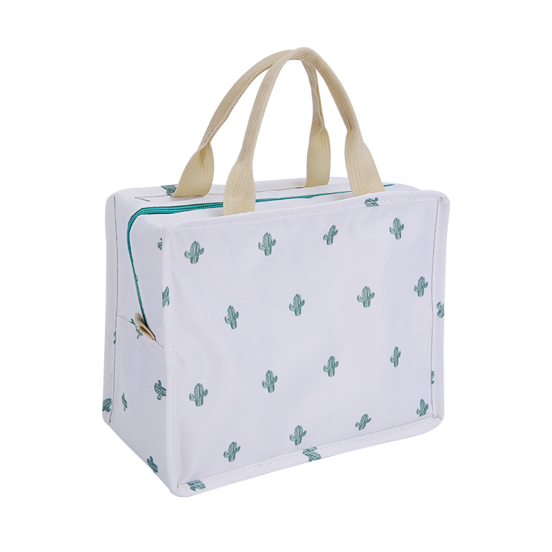 Cactus Portable Lunch Bag Insulation Double Layer Thermal Package Picnic Adult Child Food beverage Fashion Lunch Box Accessories